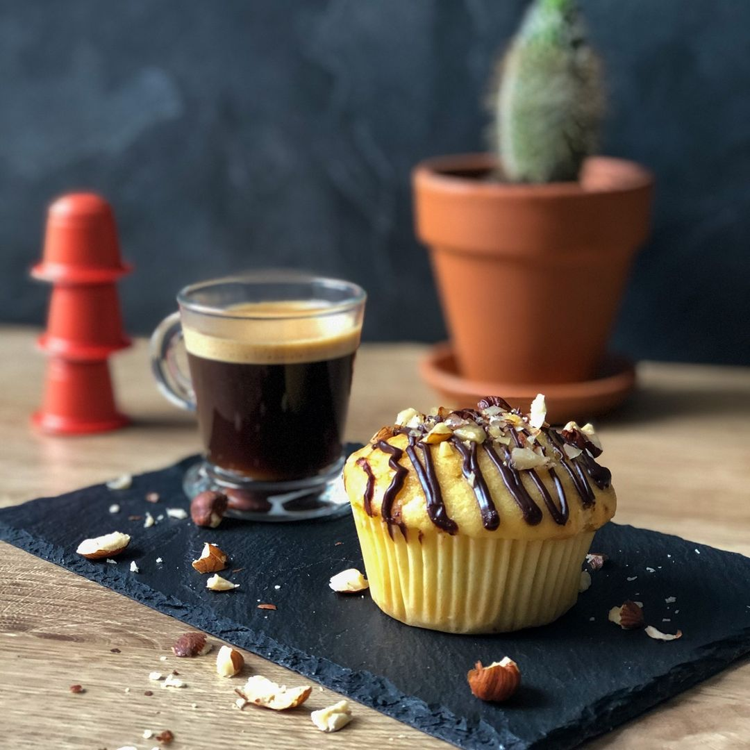 Muffin coeur coulant