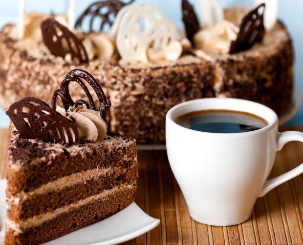 gateau au café du 1er mai avec chocolat